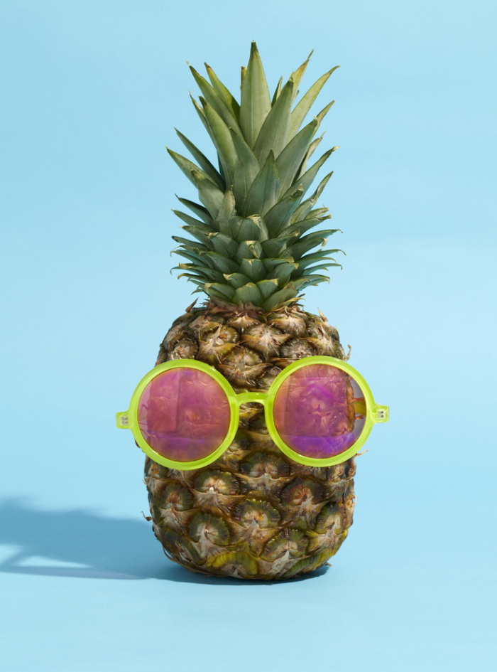 pineapples for eye health