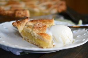 Pineapple Pie recipe, via Fork Vs Spoon.