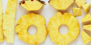 pineapple snack