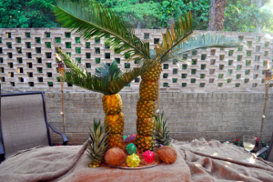 pineapple palm tree