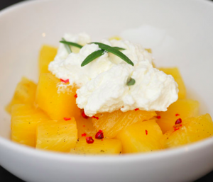 valentines day pineapple dessert