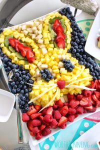 Easter Recipes Bunny Fruit Platter