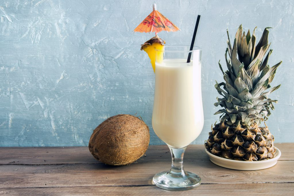 summer pineapple pina colada