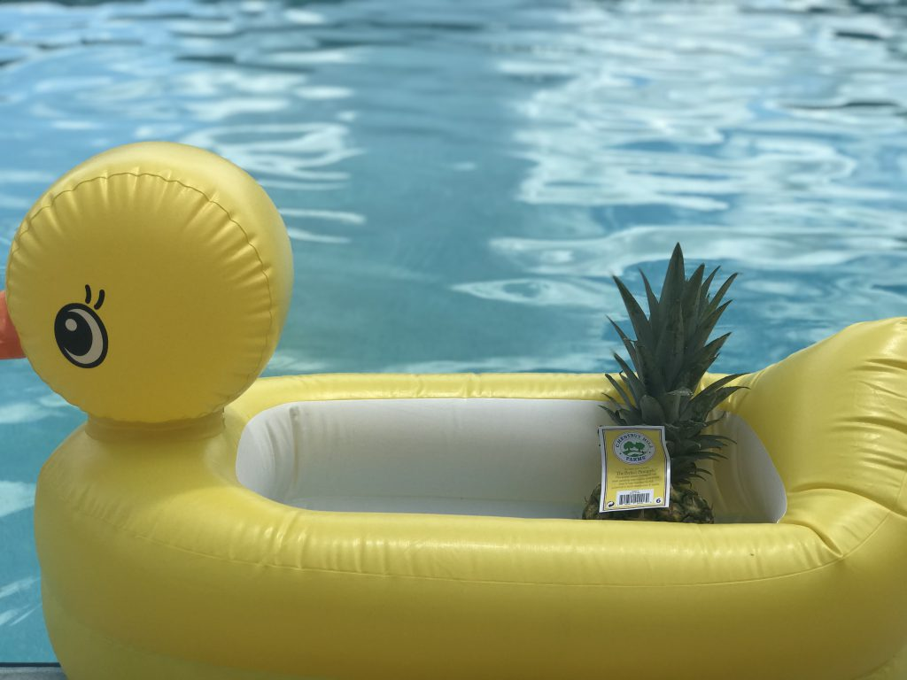 perfect pineapple pool party