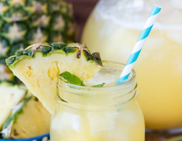 end of summer BBQ pineapple punch