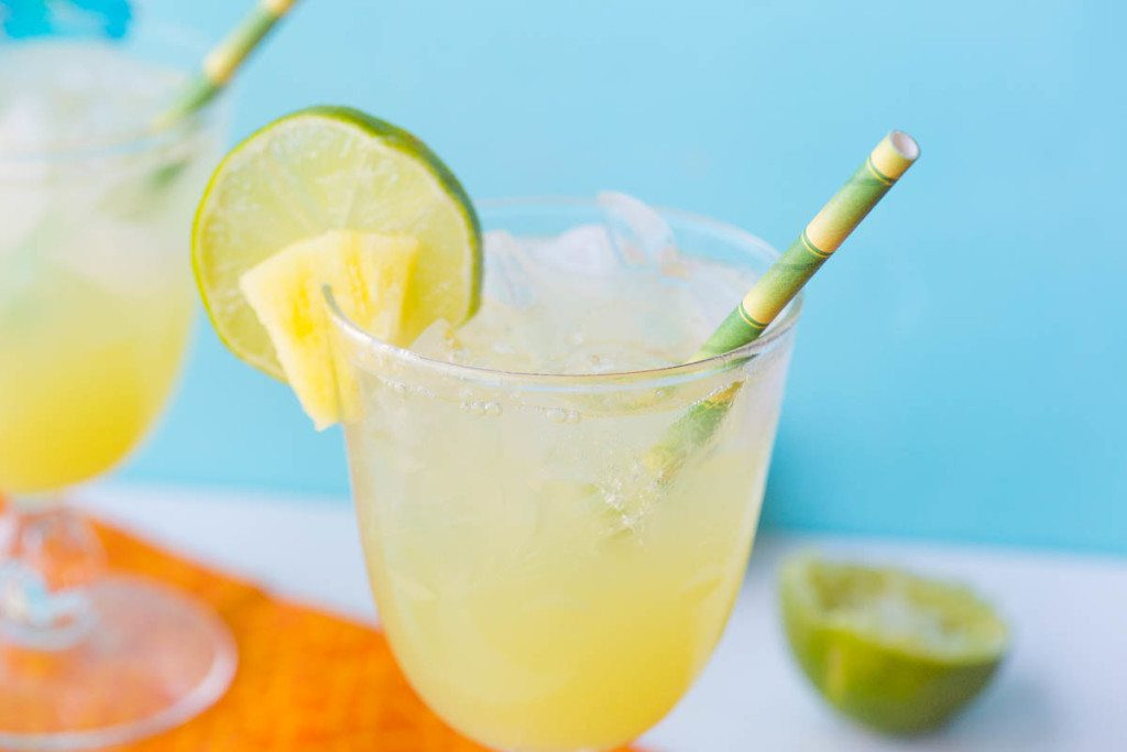 labor day party pineapple spritz