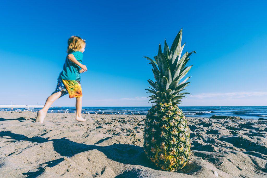 kid-friendly pineapple crafts