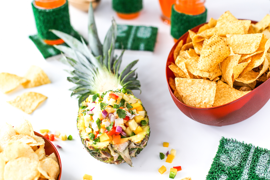 pineapple football season recipes