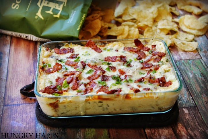 football season recipes cheesy bacon-pineapple dip
