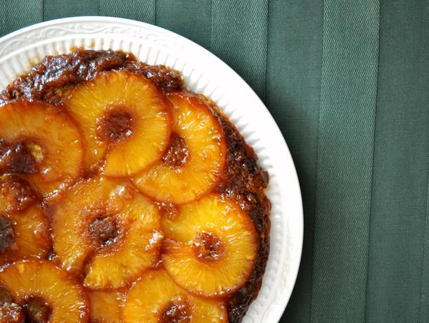 pineapple fall upside down cake
