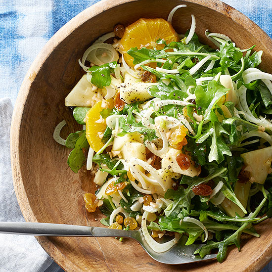 spring pineapple fennel salad