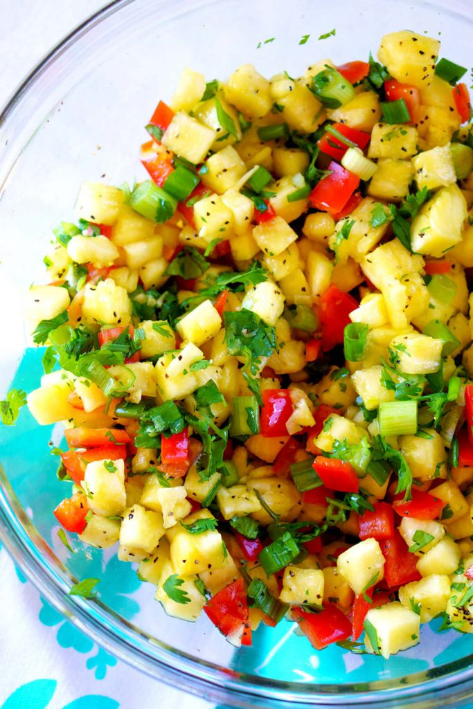 canned pineapple salsa