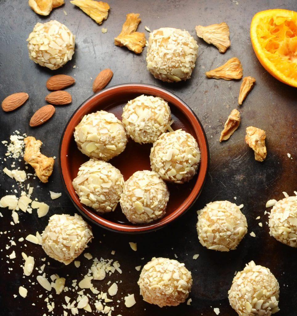 healthy pineapple energy balls