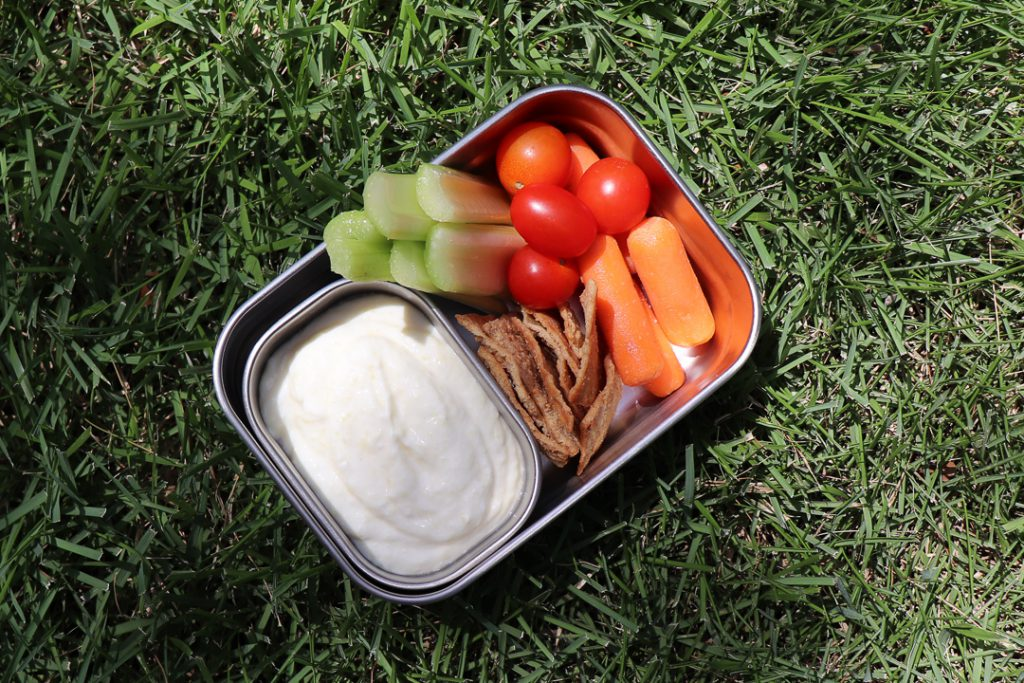 cottage cheese pineapple dip lunchbox ideas