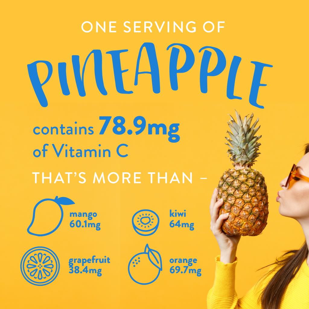 pineapple vitamin c back to school