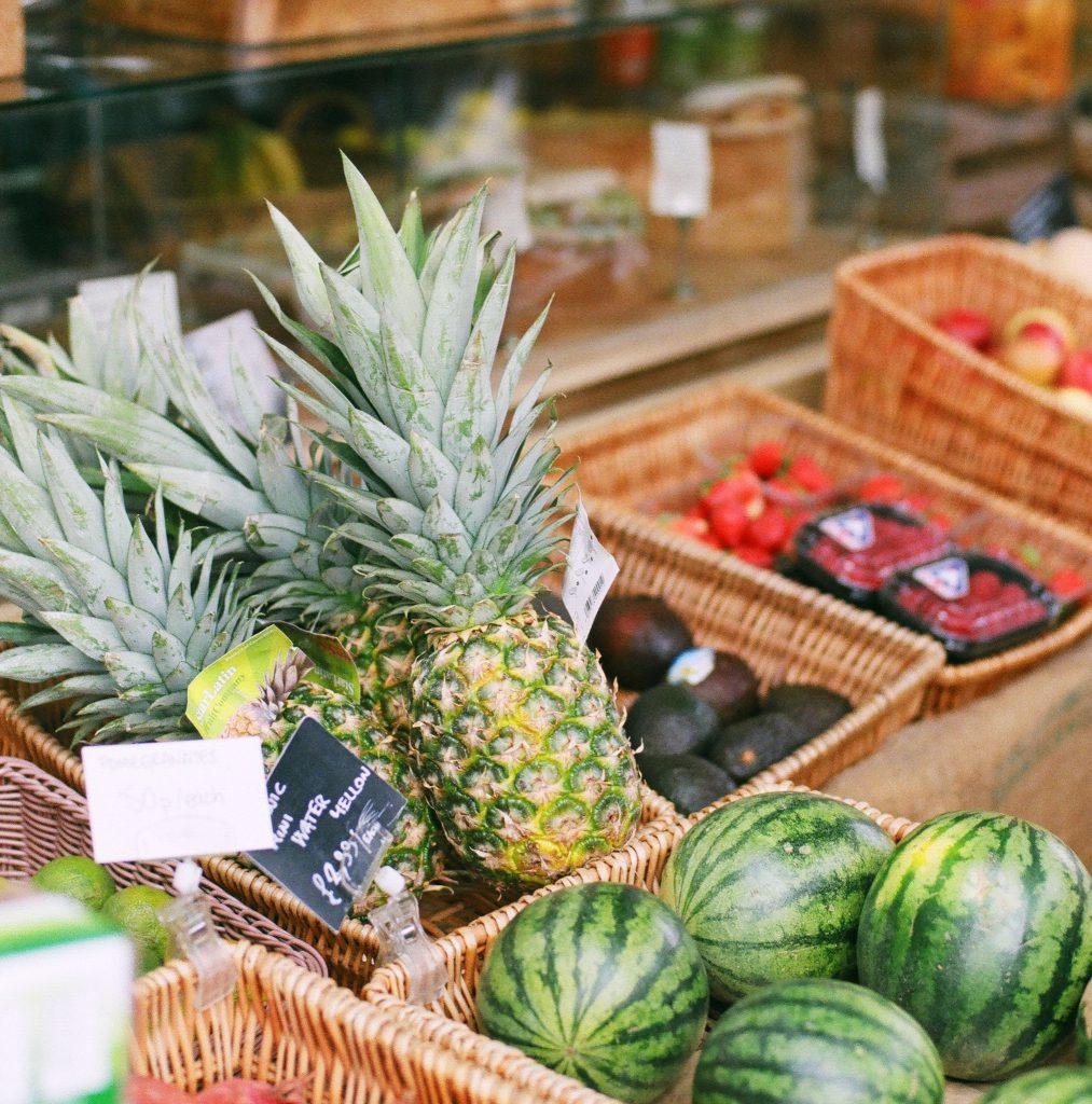 Pick a Ripe Pineapple